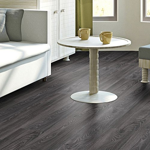 vinylboden schwarz der dunkle boden berzeugt immer. Black Bedroom Furniture Sets. Home Design Ideas