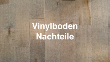 vinylboden nachteile vinylboden test. Black Bedroom Furniture Sets. Home Design Ideas