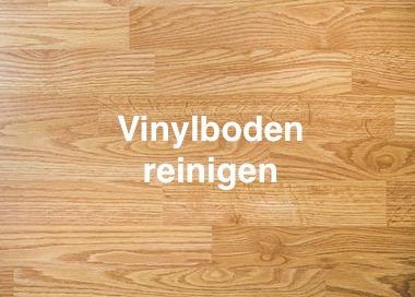 Vinylboden reinigen